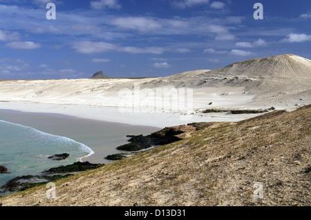 Chaves Beach - Boa Vista, Cape Verde - Stock Photo