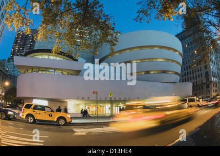 Solomon R Guggenheim Museum, NYC - Stock Photo