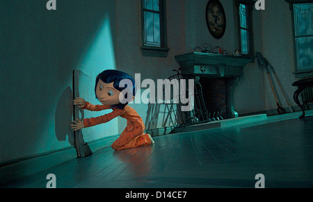 CORALINE (2009) CORALINE (CHARACTER) HENRY SELICK (DIR) 005 MOVIESTORE COLLECTION LTD - Stock Photo