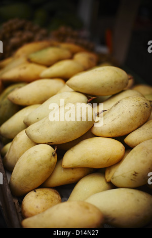 Mango for sale at market - Stock Photo