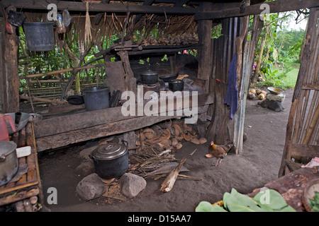 Philippine Dirty Kitchen - Stock Photo