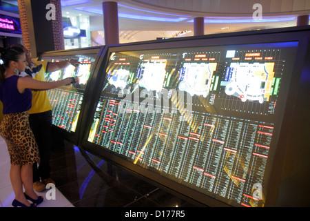 Dubai UAE United Arab Emirates U.A.E. Middle East Downtown Dubai Burj Dubai Dubai Mall directory map Middle Eastern - Stock Photo