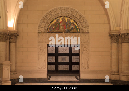 The tombs of Carlota of Mexico, Prince Louis-Philippe and Prince Leopold of Liechtenstein at the Royal Crypt in - Stock Photo