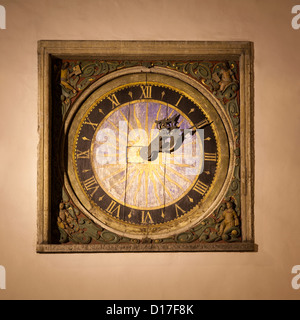 Close up of ornate clock - Stock Photo