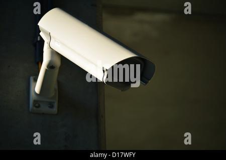 Hi-tech dome type camera over - Stock Photo