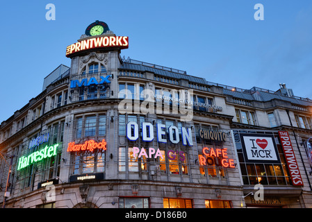 The Printworks entertainment venue in Manchester City Centre - Stock Photo