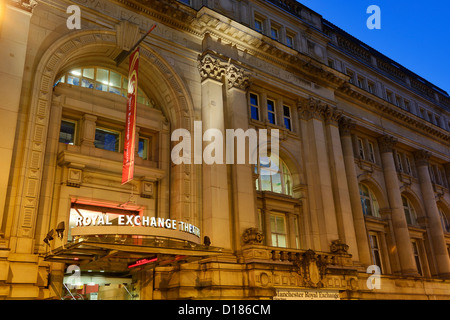 Manchester Royal Exchange Theatre entrance - Stock Photo