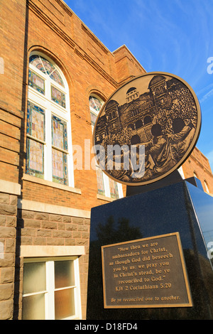 Sixteenth Street Baptist Church,Birmingham,Alabama,USA - Stock Photo