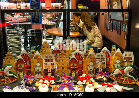 Sylt Westerland blue hour - Stock Photo
