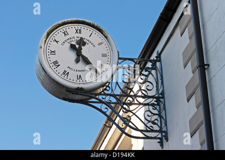 Crombie Wilkinson Solicitors Clock Gowthorpe Selby - Stock Photo