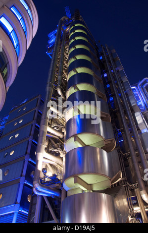 The Lloyd's building is the home of the insurance ...