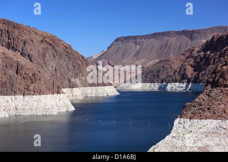Lake Mead in Nevada, USA. - Stock Photo
