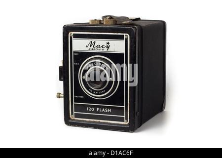Vintage Macy box camera - Stock Photo