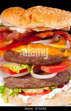 Giant hamburger stock photo 43955919 alamy for Giant chilli thai