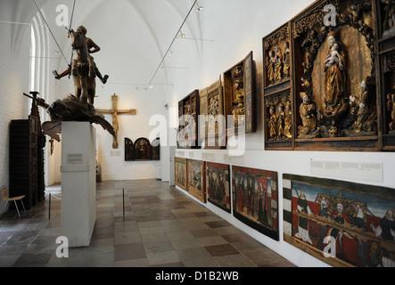 Denmark. Copenhagen. National Museum. Interior.
