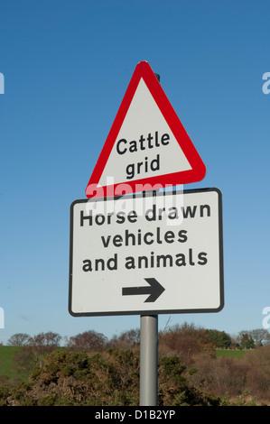 British Highways road sign - Stock Photo