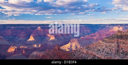 South Kaibab Trailhead overlook, South Rim, Grand Canyon National Park, Arizona, USA United States of America - Stock Photo