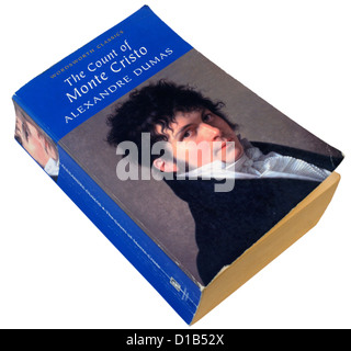 The Count of Monte Cristo by Alexandre Dumas - Stock Photo
