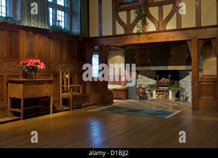 ... The Main Hall In Blackwell, U0027arts And Craftsu0027 House, Overlooking Lake  Windermere