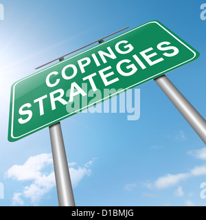 Coping strategies. - Stock Photo