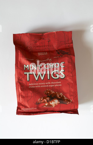 Mint Chocolate Twigs