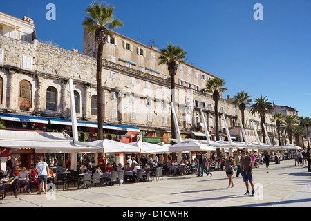 Split, Croatia, Europe - Stock Photo