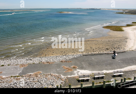 Southhampton, New York - 21 May 2006 --Shinnecock Bay viewed from the Ponquoque Bridge CREDIT: ©Stacy Walsh Rosenstock/Alamy - Stock Photo