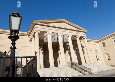 District of Columbia Court of Appeals - Washington, DC USA - Stock Photo