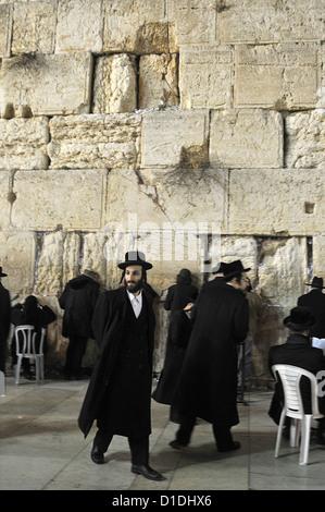 Jerusalem Western Wall traditional scene Jerusalem Collection - Stock Photo