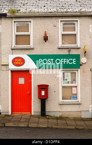 Post Office in a small, rural village - Stock Photo