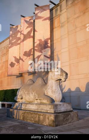 Camel Sculpture, Seattle Asian Art Museum - Volunteer Park, Seattle, Washington - Stock Photo