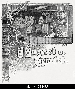Hansel and Gretel - Stock Photo