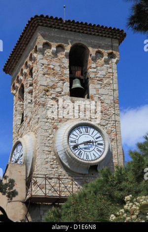Tower of Notre Dame d'Esperance church, Cannes, Alpes Maritimes, Provence, Cote d'Azur, French Riviera, France, - Stock Photo