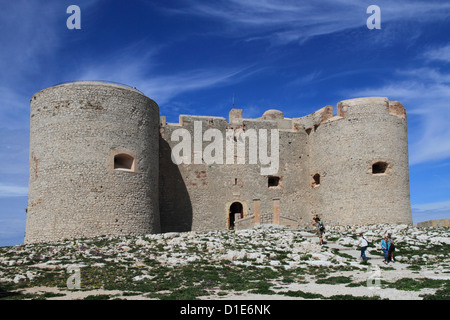 Chateau d'If, Marseilles, Bouches du Rhone, Provence, France, Europe - Stock Photo