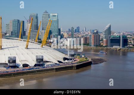 O2 Arena, Greenwich, London, England, United Kingdom, Europe - Stock Photo