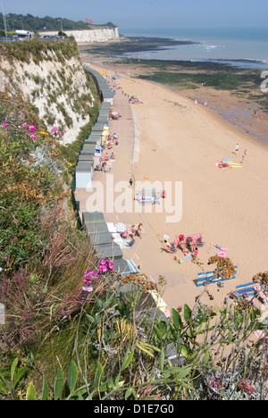 Beach, Stone Bay, Broadstairs, Kent, England, United Kingdom, Europe - Stock Photo