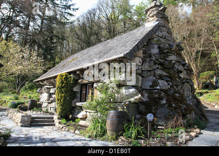 The Ugly House, Ty Hyll, Snowdonia National Park, Snowdonia, North Wales, Wales, United Kingdom, Europe - Stock Photo