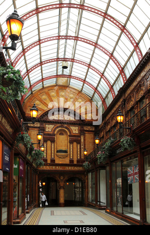 The Central Arcade, 19th century buildings in Grainger Town, part of central Newcastle-upon-Tyne, Tyne and Wear, - Stock Photo