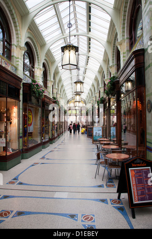 Royal Arcade, Norwich, Norfolk, England, United Kingdom, Europe - Stock Photo