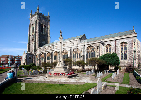 Church of St. Peter and St. Paul at Cromer, Norfolk, England, United Kingdom, Europe - Stock Photo