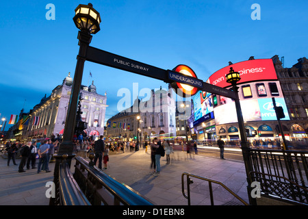 Piccadilly Circus, London, England, United Kingdom, Europe - Stock Photo