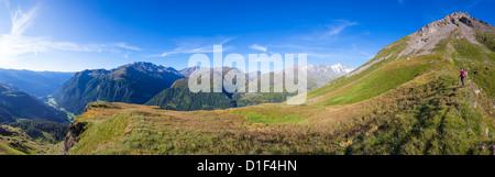 Morning mood at the Grossglockner, Hohe Tauern National Park, Carinthia, Austria - Stock Photo