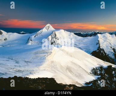 Mountainscape in the Oetztal Alps, Tyrol, Austria - Stock Photo