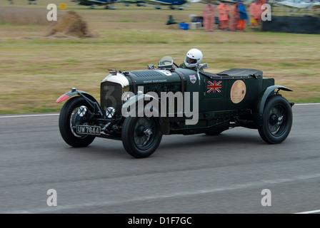 1929 Bentley 4 1/2 Lire Le Mans - Stock Photo