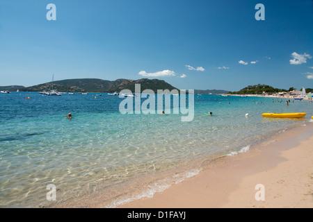 Palombaggia Beach near Porto-Vecchio, Corsica, France, Mediterranean, Europe - Stock Photo