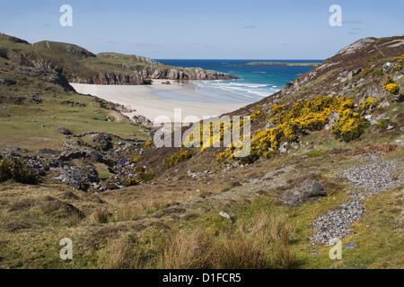 Ceannabeinne Bay, near Durness, Sutherland, Scotland, United Kingdom, Europe - Stock Photo