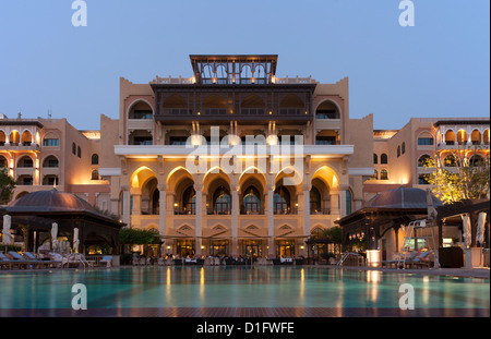 Shangri La Hotel, Abu Dhabi, United Arab Emirates, Middle East - Stock Photo