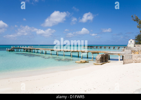 Columbus Landfall National Park, Grand Turk Island, Turks and Caicos Islands, West Indies, Caribbean, Central America - Stock Photo