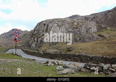 Snowdonia National Park, Snowdonia, North Wales, Wales, United Kingdom, Europe - Stock Photo