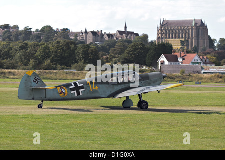 Messerschmitt Bf108 Taifun - Stock Photo